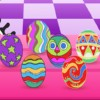 Pretty Colorful Easter Egg