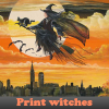 Print witches 5 Differences