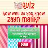 Quiz – Do You Know Zayn Malik?