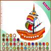 Ship Coloring