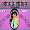 Similarities Tiana and Jasmine