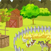 Smiley Farm Field Deco