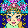 Snow Maiden Coloring