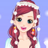 Snow White Christmas Bride