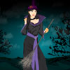 Spooky Halloween Witch Dress Up
