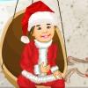 Summer Santa Kid