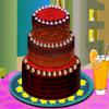Sweet Chocolate Cake Deco