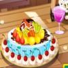 Sweet Chocolate Fruit Pie