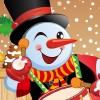 The Funny Snowman Dress Up