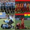 Uruguay – Ghana, quarter finals, South Africa 2010 Puzzle