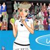 US Open Tennis Girl