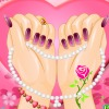 valentine nail fashion