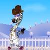 Zebra dressup