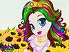 Sunflower Princess Hairstyles